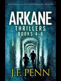 ARKANE Thriller Boxset 2: One Day in Budapest, Day of the Vikings, Gates of Hell