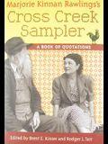 Marjorie Kinnan Rawlings's Cross Creek Sampler: A Book of Quotations