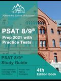 PSAT 8/9 Prep 2021 with Practice Tests: PSAT 8/9 Study Guide [4th Edition Book]