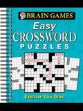 Brain Games - Easy Crossword Puzzles