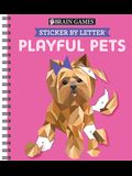 Sticker Puzzles Playful Pets