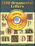 1200 Ornamental Letters [With CDROM]