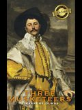 The Three Musketeers (Deluxe Library Binding) (Illustrated)