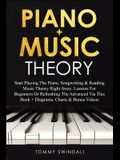 Piano + Music Theory: Start Playing The Piano, Songwriting & Reading Music Theory Right Away. Lessons For Beginners Or Refreshing The Advanc