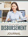 10 Column Disbursement Journal