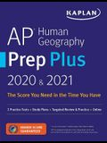 AP Human Geography Prep Plus 2020 & 2021: 3 Practice Tests + Study Plans + Review + Online
