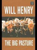 The Big Pasture (Center Point Premier Western (Large Print))