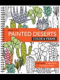 Color and Frame Painted Deserts