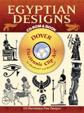 Egyptian Designs CD-ROM and Book [With CDROM]