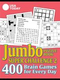 USA Today Jumbo Puzzle Book Super Challenge 2, Volume 30: 400 Brain Games for Every Day
