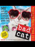 Bad Cat Page-A-Day Color Calendar: 365 Not-So-Pretty Kitties and Cats Gone Bad