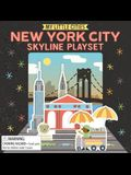 My Little Cities: New York City Skyline Playset: (Travel Books for Toddlers, City Board Books)