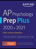 AP Psychology Prep Plus 2020 & 2021: 6 Practice Tests + Study Plans + Review + Online