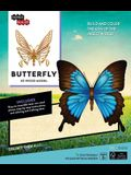 Incredibuilds: Butterfly 3D Wood Model