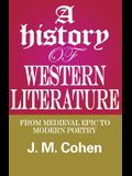 A History of Western Literature: From Medieval Epic to Modern Poetry