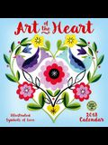Art of the Heart 2018 Wall Calendar: Illustrated Symbols of Love