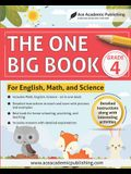 The One Big Book - Grade 4: For English, Math and Science