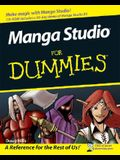 Manga Studio for Dummies [With CDROM]