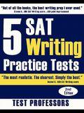5 SAT Writing Practice Tests