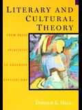 Literary and Cultural Theory: From Basic Principles to Advanced Applications