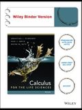 Calculus for the Life Sciences, Binder Ready Version
