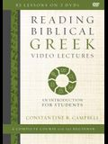 Reading Biblical Greek Video Lectures: An Introduction for Students