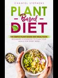 Plant-Based Diet: The Simple Plant Base Diet Meal Plan: Beginners Cookbook to Plan Your Meals for Every Week
