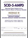 Structured Clinical Interview for the Dsm-5(r) Alternative Model for Personality Disorders (Scid-5-Ampd) Module III: Personality Disorders (Including