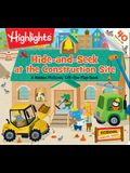 Hide-And-Seek at the Construction Site: A Hidden Pictures Lift-The-Flap Book