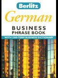 Berlitz Business German Phrase Book (Berlitz Business Phrase Book & Dictionary)