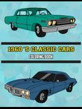 1960's Classic Cars Coloring Book: Volume 1