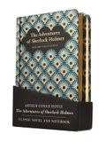 The Adventures of Sherlock Holmes Gift Pack - Lined Notebook & Novel