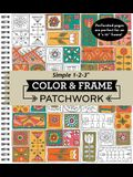 Color & Frame - Patchwork (Adult Coloring Book)