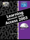 Learning Microsoft Access 2003