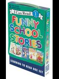 Funny School Stories: Learning to Read Box Set: 5 Fun-Filled Adventures!