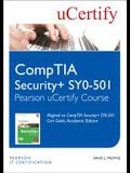Comptia Security+ Sy0-501 Pearson Ucertify Course Student Access Card
