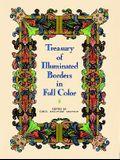Treasury of Illuminated Borders in Full Color