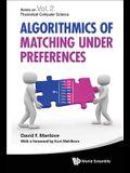 Algorithmics of Matching Under Preferences
