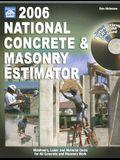 National Concrete & Masonry Estimator [With CDROM]