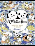 A Million Bears, Volume 3: Beautiful Bears to Color