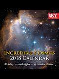 2018 Incredible Cosmos Page-A-Day Calendar