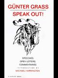 Speak Out!: Speeches, Open Letters, Commentaries