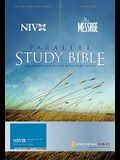 NIV and The Message Parallel Study Bible: Updated Numbered Edition