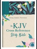 The KJV Cross Reference Study Bible--Turquoise Floral