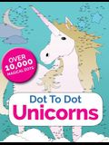 Dot to Dot Unicorns: Connect the Dots in the Enchanted World of Unicorns