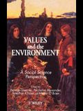 Values and the Environment: A Social Science Perspective