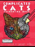 Complicated Cats: Colouring Book
