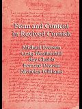 Form and Content in Revived Cornish: Reviews and essays in criticism of Kernowek Kemyn