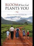 Bloom Where God Plants You