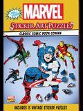 Marvel Sticker Art Puzzles